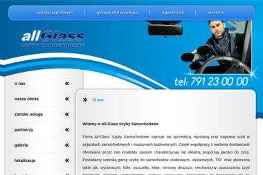 All-Glass Szyby Samochodowe Daniel Kończal. Wymiana szyb, serwis szyb samochodowych - Oklejanie Szyb Samochodowych Bydgoszcz