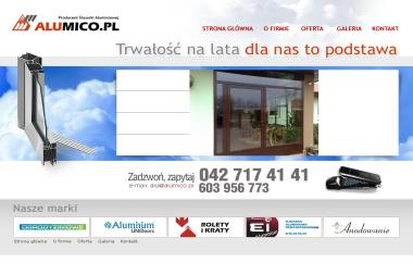 Alumico.pl - Sprzedaż Okien Aluminiowych Zgierz