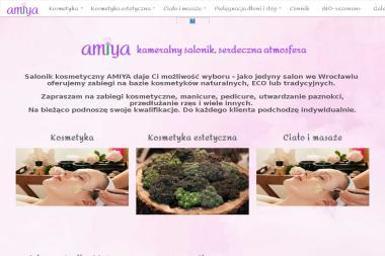 Gabinet Kosmetyczny Amiya. Kosmetyka, gabinet kosmetyczny - Manicure i pedicure Wrocław