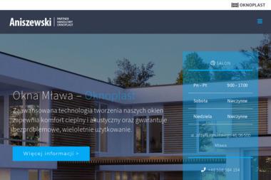 ANISZEWSKI - Okna PCV Mława