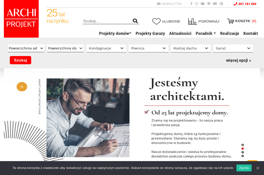 Archi - Projekt. Biuro projektowe, projekty domów - Projekty domów Lublin