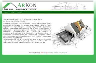 Usługi projektowe ArKon - Projektowanie wnętrz Parczew