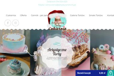 Artystyczne Torty K.Gieryszewski. Torty urodzinowe, torty 3D - Cukiernia Warszawa
