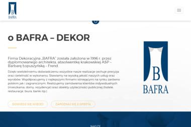 Firma Dekoracyjna Bafra Barbara Łopuszyńska Frend - Aranżacje Wnętrz Rzeszów