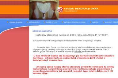 Studio Dekoracji Okna Krawczykowie - Firany na Wymiar Kłobuck