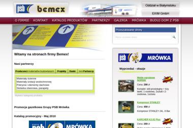 Grupa PSB - Bemex. Materiały budowlane, artykuły wyposażenia wnętrz - Hurtownia Materiałów Budowlanych Zambrów
