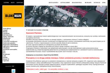 Blokman Piotr Wasik - Ubezpieczenie samochodu Łódź
