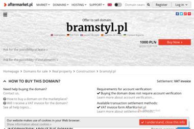 Bramstyl S.C. - Okna PCV Jab艂onna