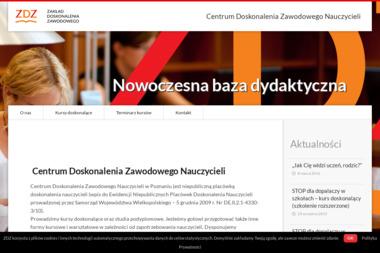 Zakład Doskonalenia Zawodowego w Poznaniu - Kwalifikacyjne Kursy Zawodowe Poznań