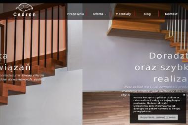 Zakład Stolarski Cedron. Schody, schody drewniane, balustrady - Schody Dębowe Tęgoborze