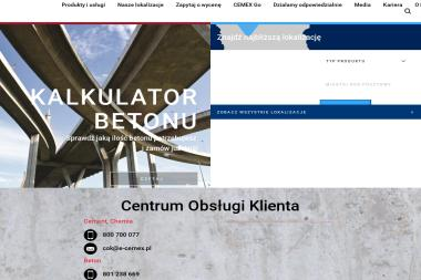 CEMEX Polska Sp. z o.o. Terminal Szczecin - Hurtownia Materiałów Budowlanych Szczecin