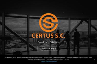 Certus s.c. Doradztwo i Szkolenia. Szkolenia bhp, wózki widłowe - Szkolenia na Wózki Widłowe Katowice