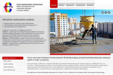 Chem Kor S.C. Stanisław Cieżak Marek Kaliszewski - Firmy budowlane Kędzierzyn-Koźle