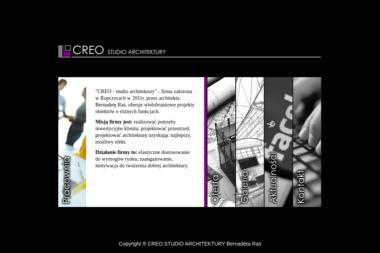 CREO STUDIO ARCHITEKTURY Bernadeta Raś - Projektowanie wnętrz Ropczyce