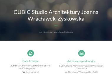 Cubic Studio Architektury Joanna Wracławek- Zyskowska - Projektowanie wnętrz Augustów