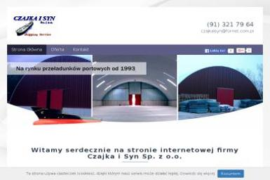 Czajka i Syn Sp. z o.o. - Zaplecze budowlane Świnoujście