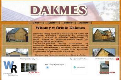 Dakmes Dubiel Andrzej - Okna drewniane Turowin