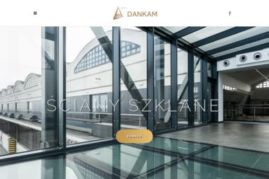 Dankam. Szklane drzwi, zabudowy szklane - Schody metalowe Gdynia