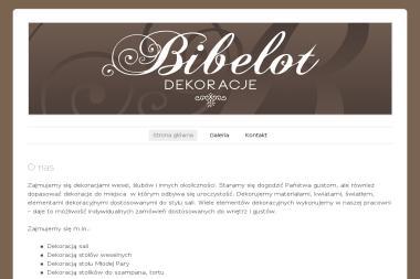 Bibelot Leszek Żabicki - Projektowanie Wnętrz Brzeszcze