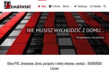 Handel i Usługi Adam Dembiński - Okna aluminiowe Leszno