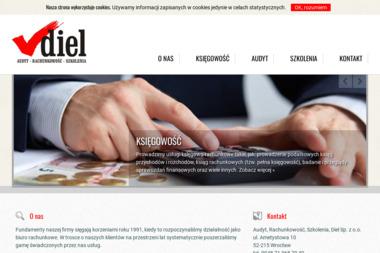 Rachunkowość, Szkolenia, Komputery. Diel Sp. z o.o. - Dokształcanie i Doskonalenie Zawodowe Wrocław