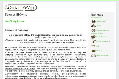 Paweł Słowiński Lecznica Weterynaryjna - Weterynarz Kraków