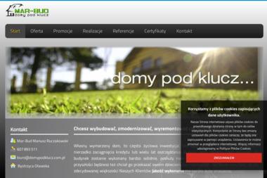 Firma Mar Bud Usługi Remontowo Budowlane Mariusz Ruczakowski - Domy Pod Klucz Bystrzyca