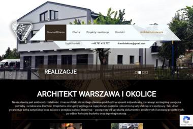 DR-Architektura Dawid Rychta. Projektowanie architektoniczno-budowlane, projektowanie konstrukcyjne, - Projekty Domów Jednorodzinnych Wołomin