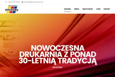Drukoba Sp. z o.o. Drukarnia offsetowa - Drukarnia Mościska