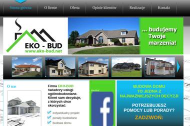 Eko-Bud. Firma budowlana, budowa domu - Domy Murowane Zaborów