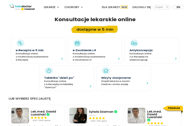 Lekarz Kot Tadeusz M. - Samodzielny Publiczny Zakład Opieki Zdrowotnej w Łukowie - Szpital św. - Psycholog Łuków