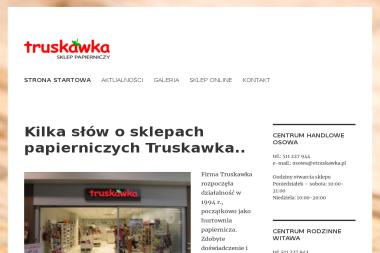 Truskawka Sklep papierniczy C.H. Witawa - Kosze prezentowe Gdynia