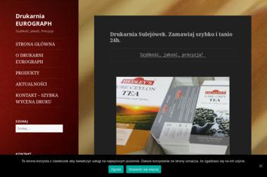 Drukarnia Eurograph - Podziękowania dla Gości Sulejówek