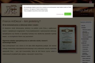 France Artdecor Sp. z o.o. - Firany na Wymiar Poznań