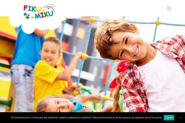 Sala zabaw Fiku Miku. Sala zabaw dla dzieci - Wypożyczalnia strojów Warszawa