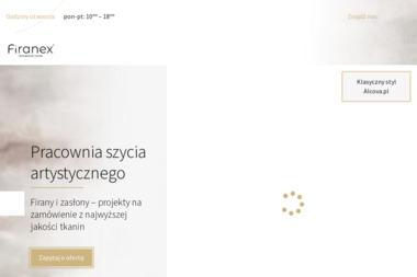 Firanex - Szycie Firan Łódź