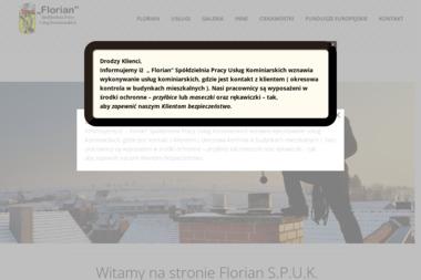 """""""Florian"""" Spółdzielnia Pracy Usług Kominiarskich - Kominiarz Wrocław"""