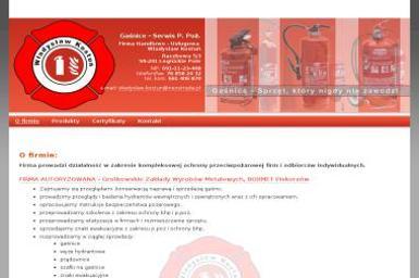 Gaśnice-Serwis P.Poż Władysław Kostun. Firma Autoryzowana GZWM, BOXMET Piskorzów - Szkolenia Raczkowa