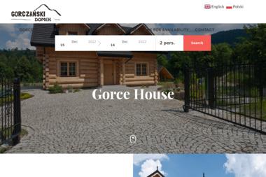 Gorczański Domek - Domy z bali Koninki