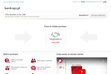 Hard Copy. Usługi kserograficzne, drukarnia cyfrowa, wydruki - Druk wielkoformatowy Wrocław