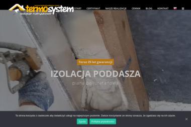 Termo-system - Ocieplenie Poddasza Pianką Sławków