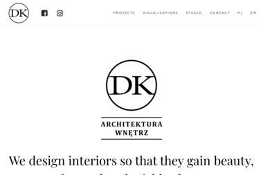 DK Architektura Wnętrz. Kompleksowy projekt wnętrz, wizualizacja wnętrz - Projektowanie wnętrz Krosno