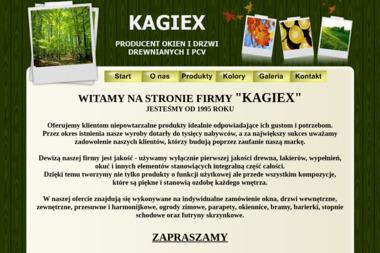 Kagiex Producent okien oraz drzwi drewnianych i pcv - Okna drewniane Mykanów