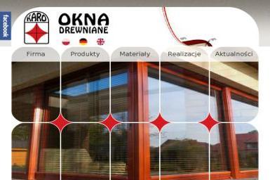 Karo. Okna drewniane - Okna drewniane Stawiguda