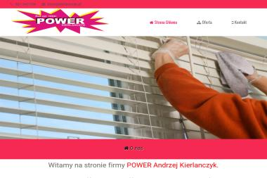 FUH POWER Andrzej Kierlanczyk. Żaluzje, rolety, markizy - Okna PCV Radziejowice-Parcel