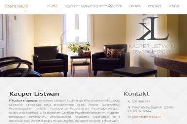 Kacper Listwan Psychoterapia - Psycholog Świdnica