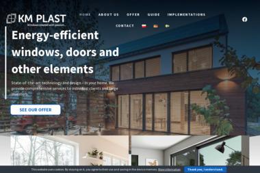 KM-Plast. Producent Okien i Drzwi - Okna drewniane Świeszewo