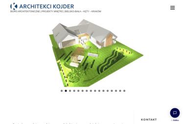 Kojder & Kojder Architekci. Architekt bielsko, projekty domu bielsko - Usługi Architektoniczne Bielsko-Biała