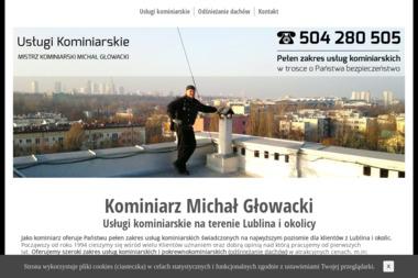 Zakład Usług Kominiarskich Michał Głowacki - Odśnieżanie Dachu Lublin