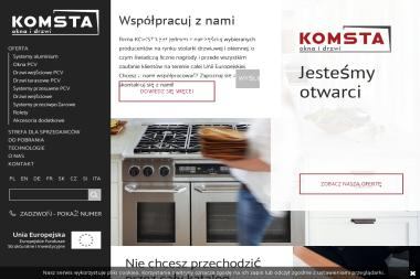 PPHU Komsta Okna Drzwi Technika Grzewcza Mirosław Komsta - Stolarka Aluminiowa Pyskowice